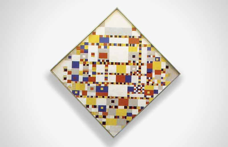 David Earl Rowland Foundation 1968 Mondrian