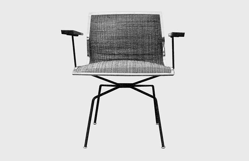 David Rowland 1951 spider chair front