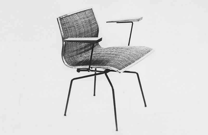 David Rowland 1951 spider chair side
