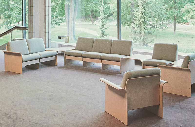David Rowland 1982 Modulus Seating room 1