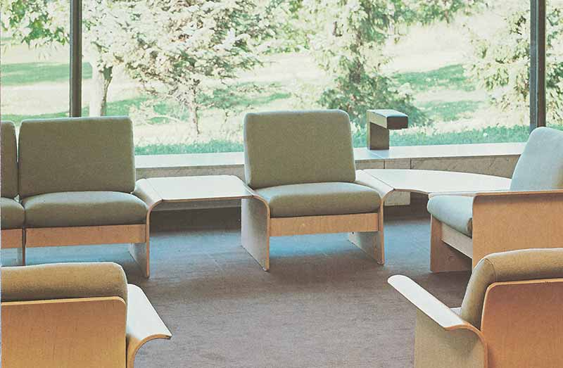 David Rowland 1982 Modulus Seating room 2