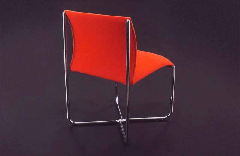 David Rowland 1984 Billow Chair back
