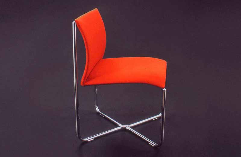 David Rowland 1984 Billow Chair side
